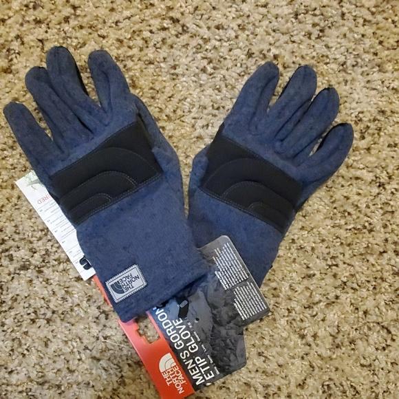 NWT Gap ETip Touch Screen Black Knit Gloves
